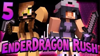 Minecraft Enderdragon Rush [Ep.5] - Secret Cow Base!