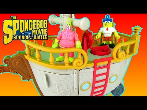 Imaginext SpongeBob SquarePants Movie Krabby Patty Food Truck Playset Patrick
