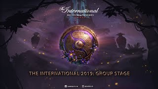 The International 2019 - Group Stage : OG VS RNG