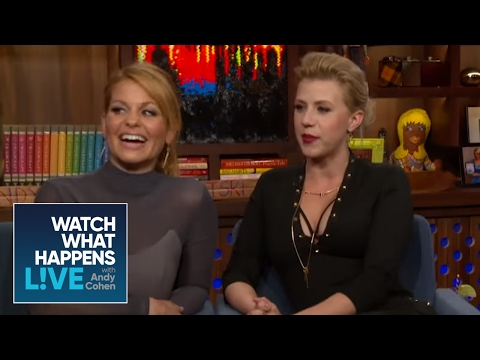 Fuller House Girls Dish On John Stamos, Bob Saget, And Dave Coulier - WWHL