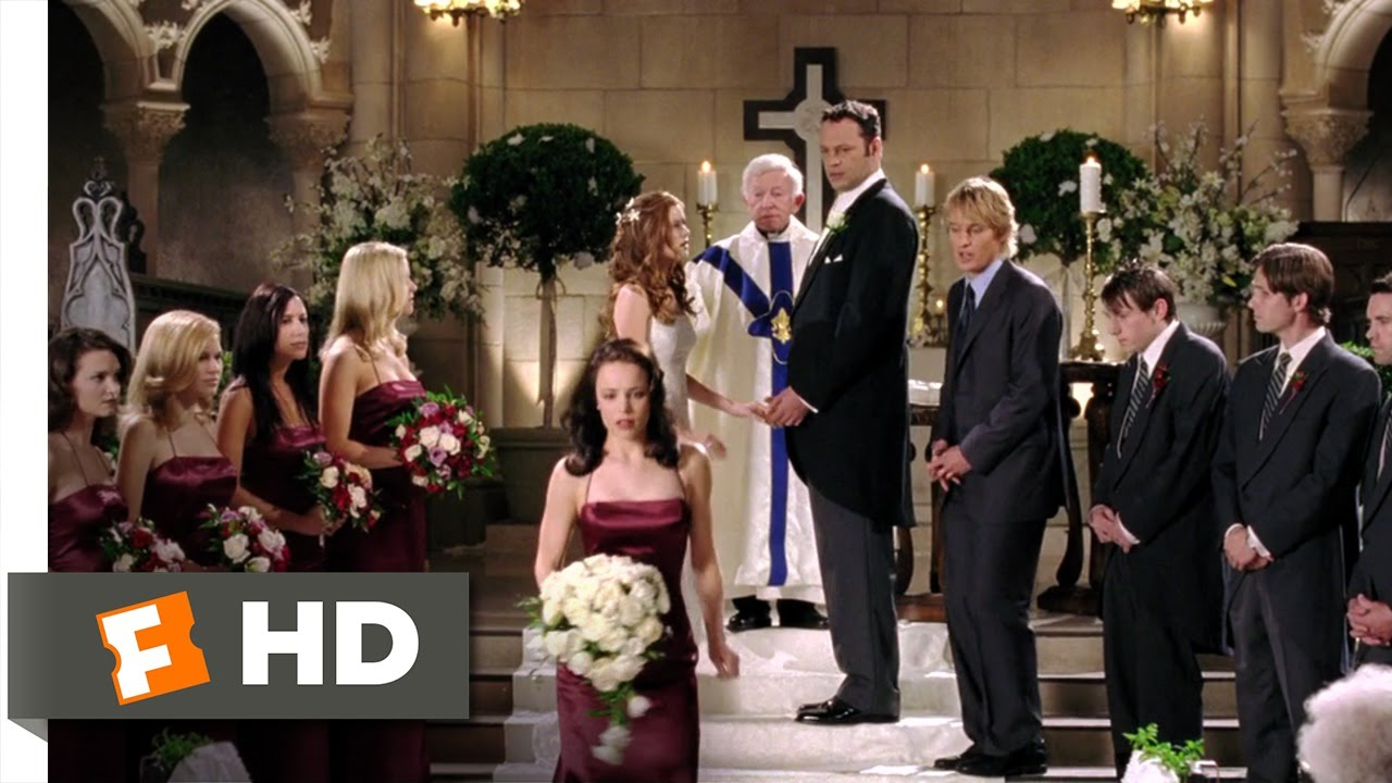 wedding crashers scene about dating and relationships
