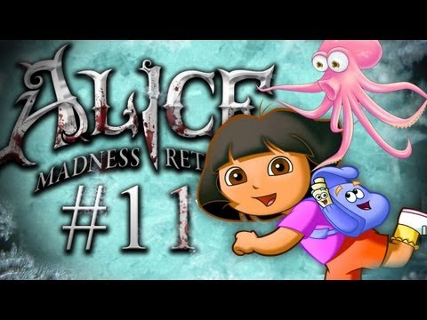 CAN YOU SPOT THE OCTOPUS? - Alice: Madness Returns - Part 11