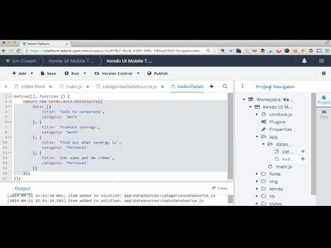 Building Mobile Apps Using Telerik Platform - Part I