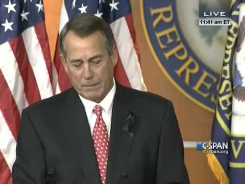 John Boehner Rips Tea Party Groups: They've Lost all Credibility - December 12, 2013