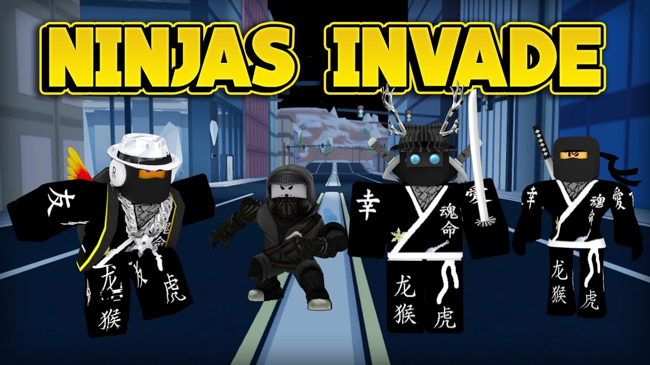 NINJAS ARE TAKING OVER JAILBREAK! (ROBLOX Jailbreak)