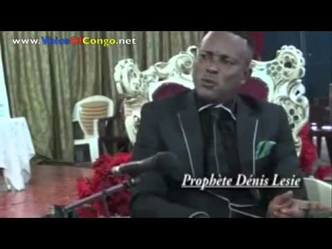 CONGO BOLOLO   Le Dernier interview de Denis Lessie avant son arrestation  @VoiceOfCongo