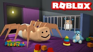 Can you survive the Roblox SPIDER BABY?