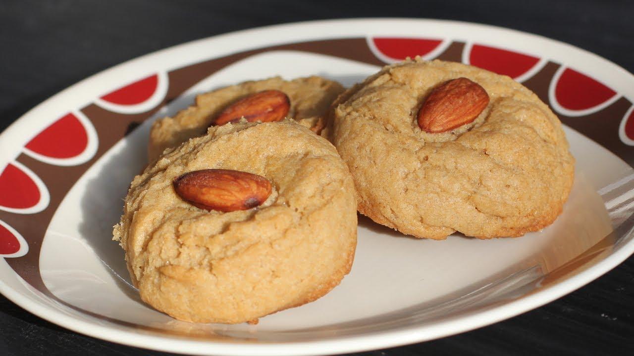 Vegan chinese almond cookies recipe vegan chinese new year dessert