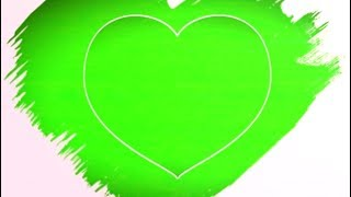 #DIL. Wedding green screen effect background beautiful frame.green screen video.