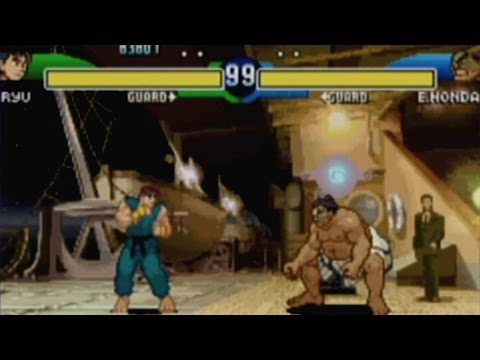CGR Undertow - STREET FIGHTER ALPHA 3 UPPER review for Game Boy Advance