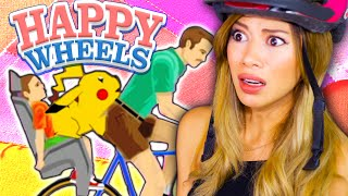 PIKACHU GETS FRISKY - Happy Wheels Fails