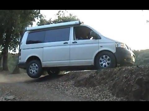 Volkswagen transporter 4motion T5 - YouTube