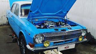 ГАЗ-24 V8 3uz обзор проекта из Питера.