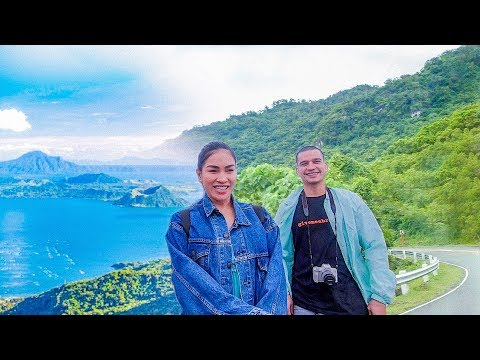 Road Trip Test Drive to TAGAYTAY and BATANGAS Philippines! at ako ang Nag Silbing Waze!