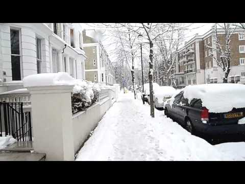 Snow in London - LX3 HD Music Videos