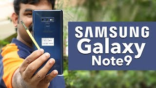 Samsung Galaxy note 9 Malayalam Review and Unboxing