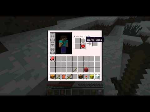 Minecraft jak zrobić łóżko