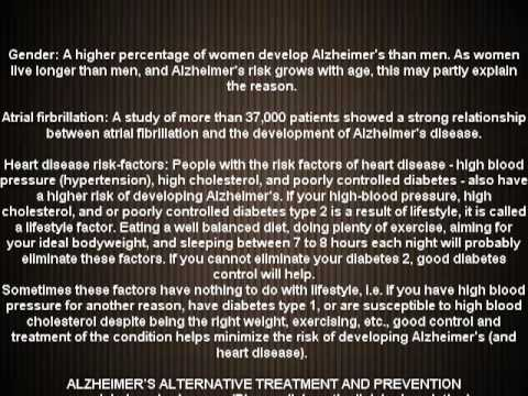 Alzheimer's disease cause and prevention (NEW)