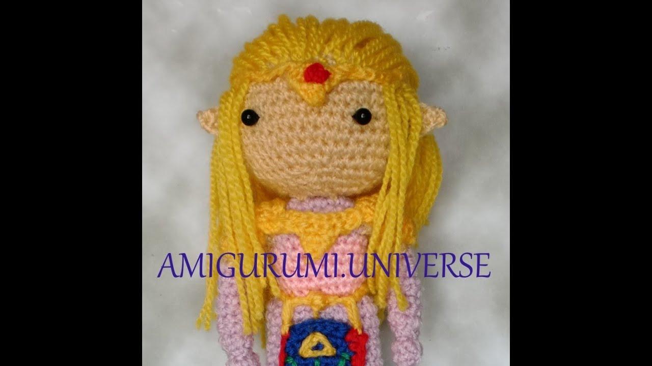 Amigurumi Short Hair Tutorial : How to add hair by Amigurumi.Universe. Tutorial cabello ...