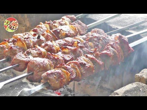Как приготовить Шашлык по - ташкентски. Просто, вкусно, недорого. Кулинария. Мясо
