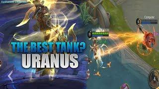 URANUS THE BEST TANK? - Mobile Legends - 2000 Diamonds Giveaways - Tips - Gameplay - Rank - Guide