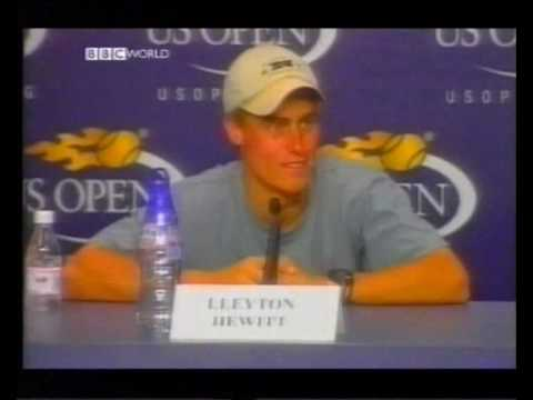 Lleyton Hewitt vs. James Blake (US Open 2001 - Round 2)