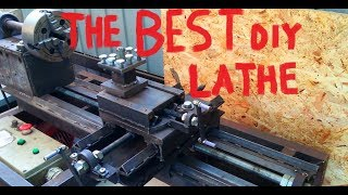 homemade metal/wooden lathe