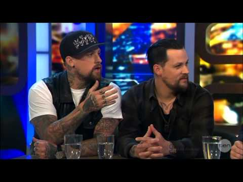 Joel & Benji Madden LIVE Australian Tv Interview 26-9-2914
