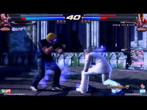 TEKKEN TAG2 UL 2/8 그린파괴자 VS BAEKRYUN VS D.PORSCHE