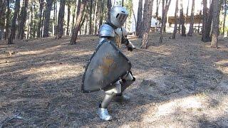 Kid's Medieval Knight Homemade Halloween Costume
