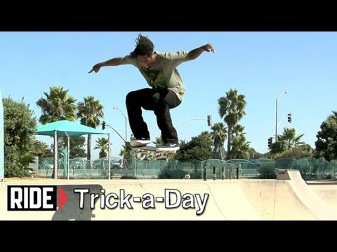How-To Nollie with Shuriken Shannon - Trick-a-Day