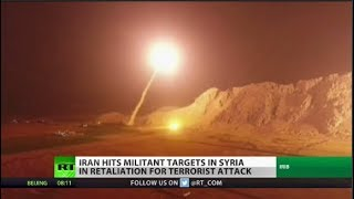 Counterstrike: Iran Hits Militant Targets in Syria