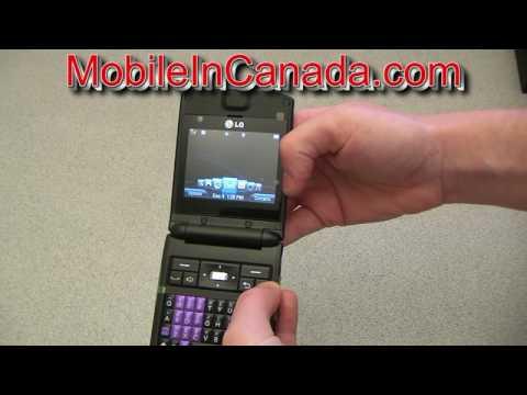 The LG Reveal of Bell Mobility ( www.MobileInCanada.com )