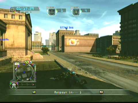 TF:RoTF PS3 Online Sideswipe Gameplay 2