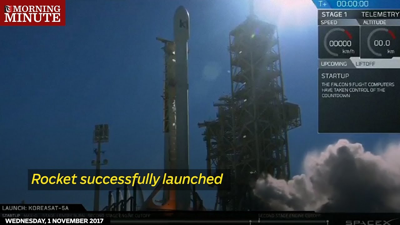 Rocket successfully launched