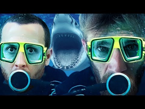 SHARK FIGHT (Shark Attack Deathmatch w/SeaNanners)