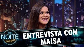 Entrevista com Maisa Silva   The Noite (09/10/17)