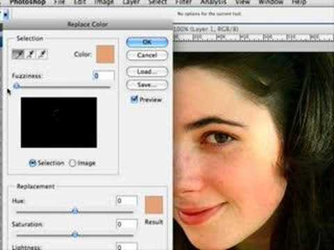 0 Photoshop Tools: Replace Color
