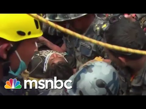 Teen Rescued From Nepal Rubble After 5 Days | msnbc