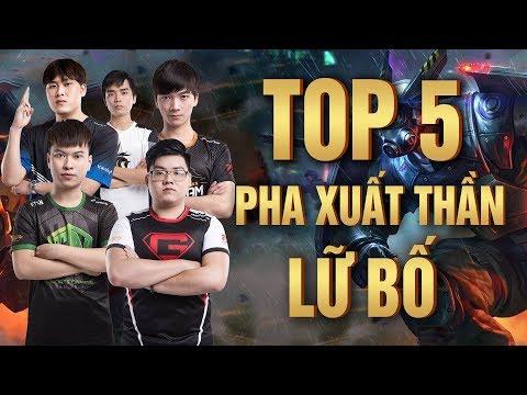 TOP 5 HIGHLIGHT LỮ BỐ -  NHỮNG TÌNH HUỐNG CÂN TEAM KHÔNG TƯỞNG