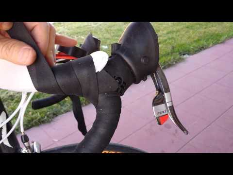 How to Pad Carbon Fiber Road Bike Handlebars for FREE