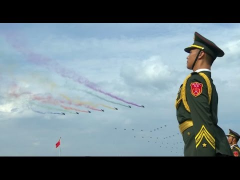 China's V-Day military parade in Beijing 2015