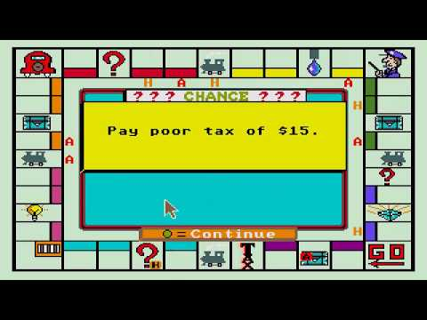 ATARI ST MONOPOLY PARKER BROTHERS NOT SOME OF THE PD VERSIONS\