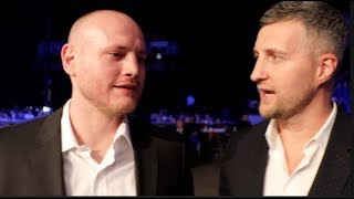 'I HATED YOU' -GEORGE GROVES TELLS BITTER RIVAL CARL FROCH AS FORMER FOES ARE UNBELIEVABLY REUNITED