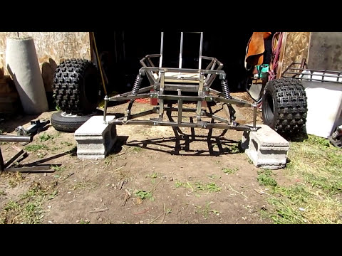 █ Go Kart , Building New Torque Converter and Front Shock Test