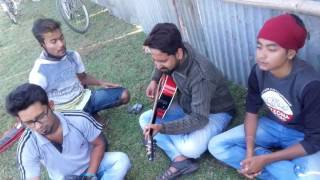 Magh balika...and...anubhuti...sunit guitar.vocal abhijit...sourov..bills..rony..doipayan..
