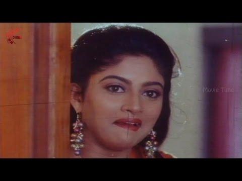 Vinod, Brahmanandam Came To Nadhiya Birthday Party    O Thandri O Koduku Movie    Nadhiya, Vinod
