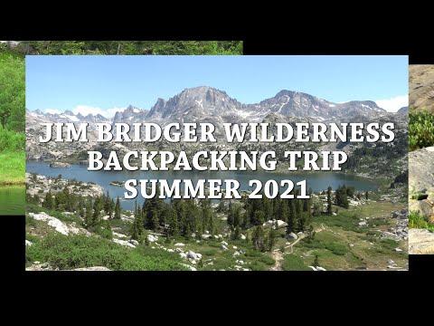 Jim Bridger Wilderness, Pinedale, Wy Backpacking Trip, July 2021