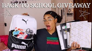 SCHOOL SUPPLIES HAUL + GIVEAWAY