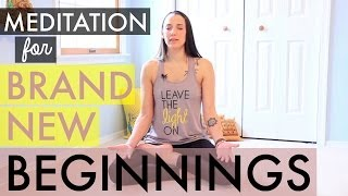 Meditation for New Beginnings - How to Meditate for Beginners - BEXLIFE